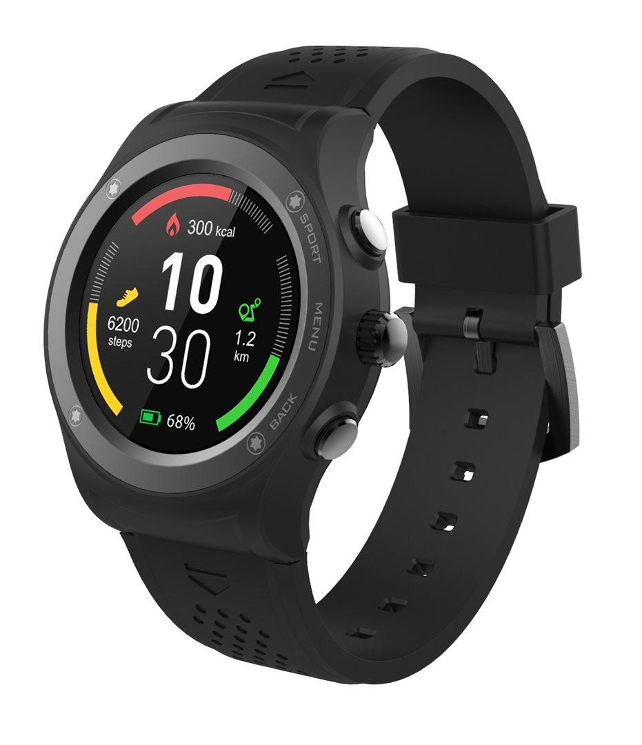 295761 - iGET ACTIVE A6 Black - chytré hodinky 96a7cb59604
